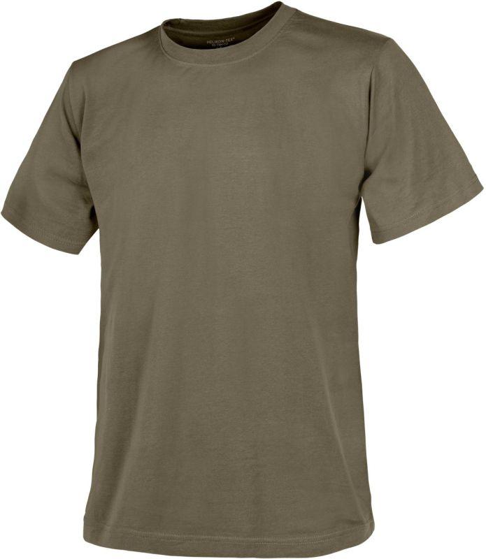 HELIKON tričko, olivové, TS-TSH-CO-02