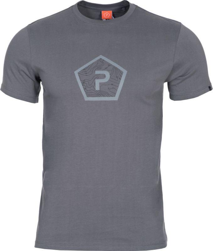 PENTAGON Tričko SHAPE - šedé, (K09012-PS-WOLFGREY)