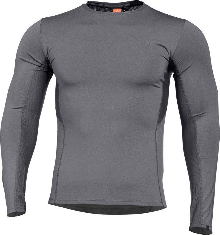 PENTAGON Funkčné tričko APOLLO, dlhý rukáv - wolf grey, (K11012-WG)