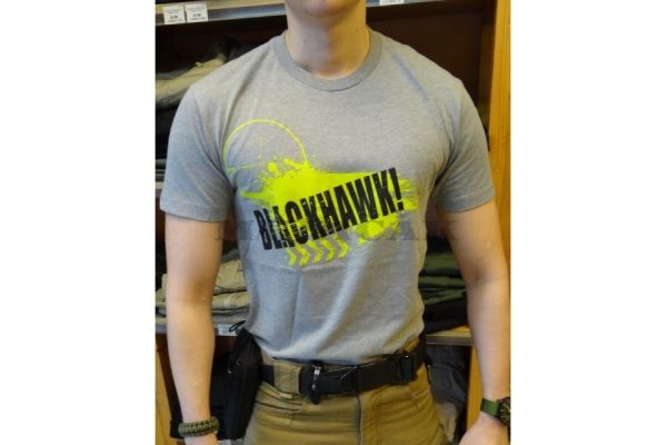 BLACKHAWK tričko Men´s Scope, šedé, 90GT02GH