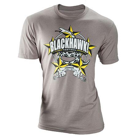 BLACKHAWK tričko Tread Stone, šedé, 90GT05SG