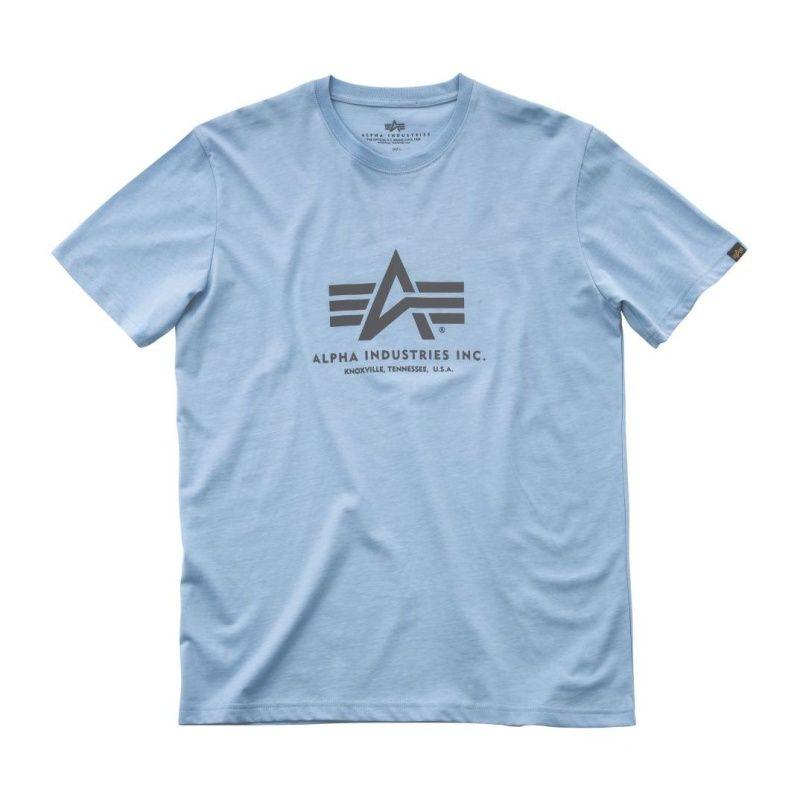 ALPHA INDUSTRIES tričko BASIC, air blue, 100501/398