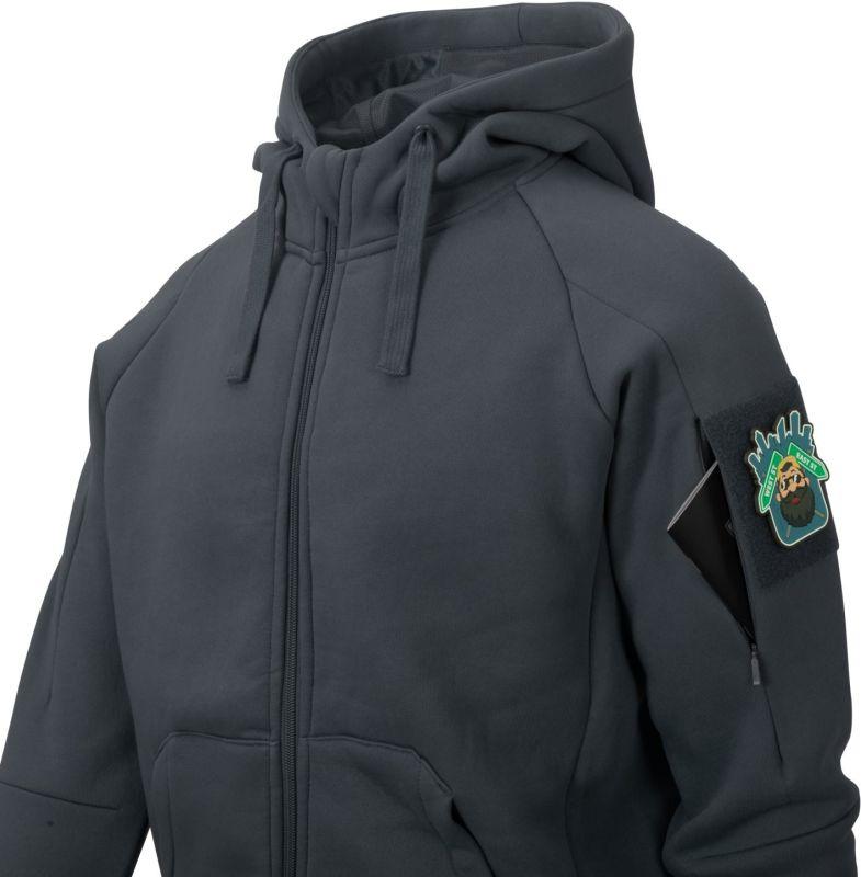 HELIKON Mikina s kapucňou Urban Tactical Hoodie Lite - zelená (BL-ULF-CB-82)