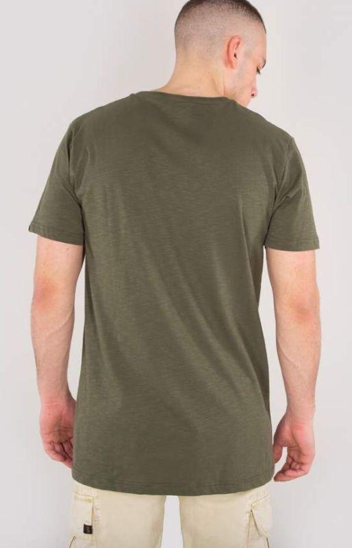 ALPHA INDUSTRIES tričko Remove Before Flight, dark olive, 166507/142