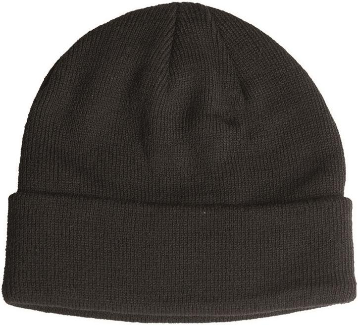 MILTEC Pletená čiapka Comando - čierna, (12133002)