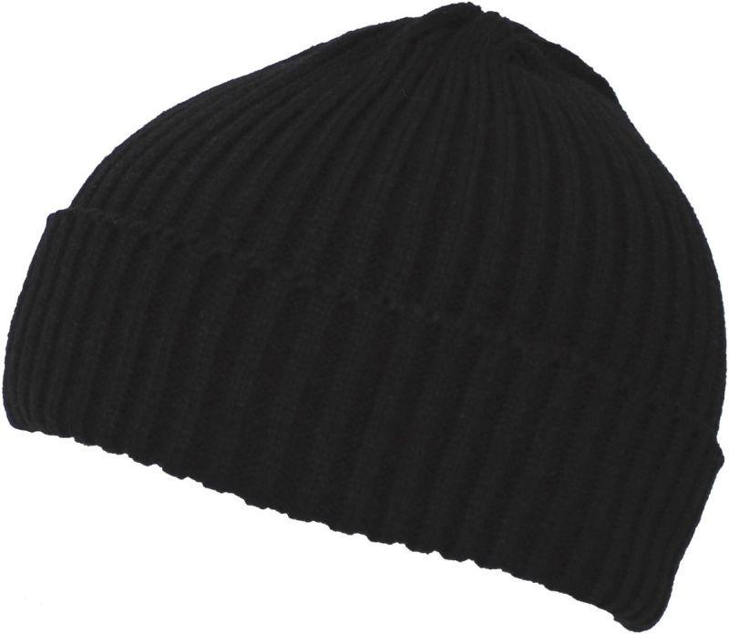 MFH Pletená čiapka - čierna, (10921A)