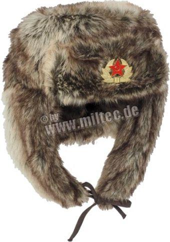 MILTEC Baranica ruská - hnedá, (12104009)