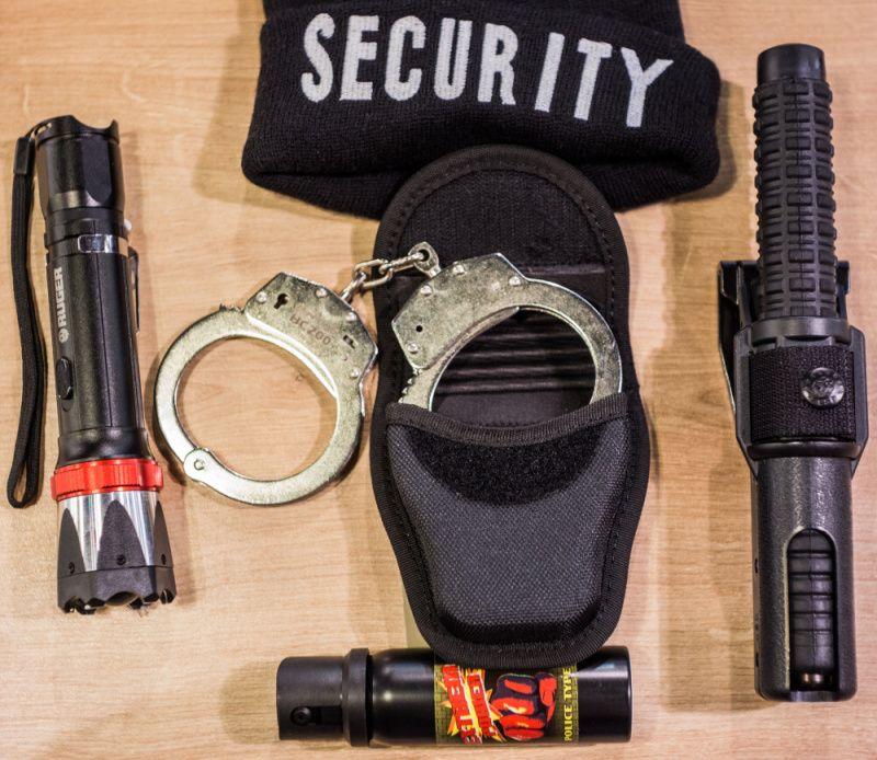 MILTEC Pletená čiapka SECURITY - čierna, (12075097)