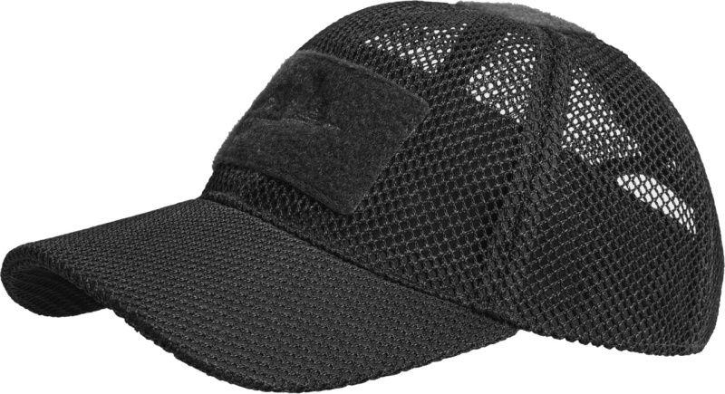 HELIKON Baseball šiltovka, MESH, čierna, CZ-BBM-PO-01