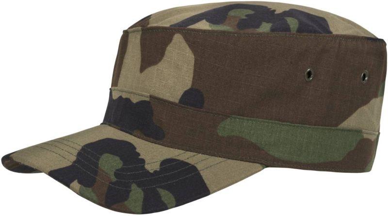 HELIKON šiltovka Combat, ripstop, woodland, CZ-COM-PR-03