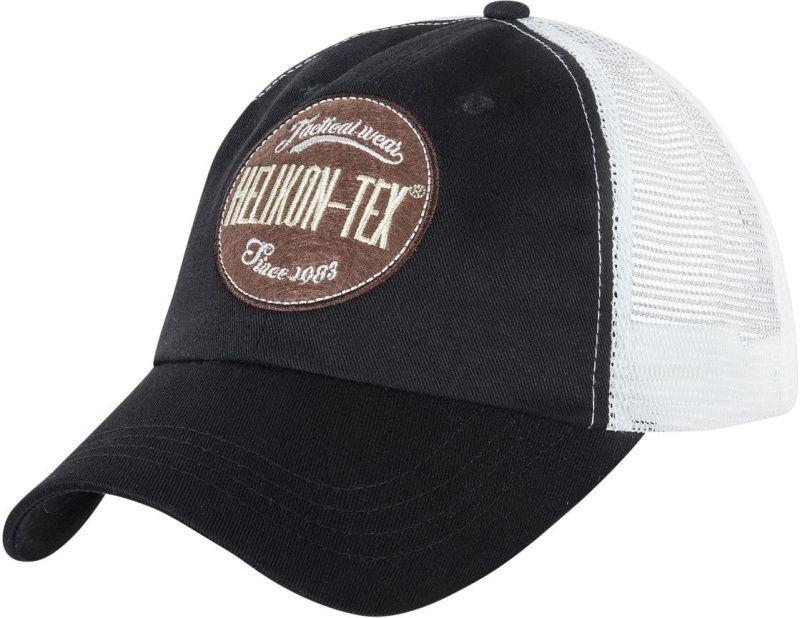 HELIKON Baseball šiltovka Trucker Logo - čierna, (CZ-TLC-CT-0120A)