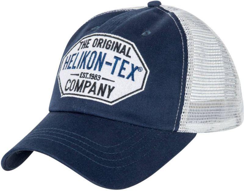 HELIKON Baseball šiltovka Trucker Logo - modrá, (CZ-TLC-CT-6520A)