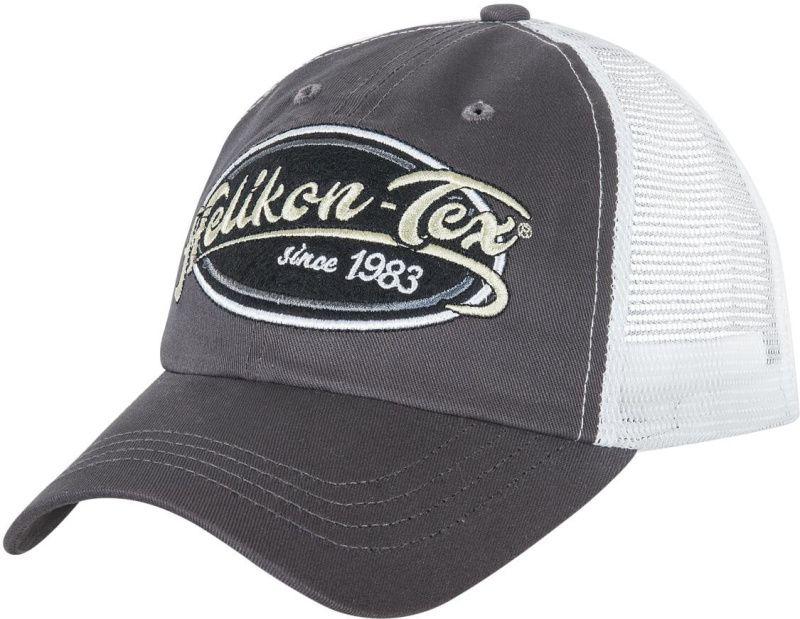 HELIKON Baseball šiltovka Trucker Logo - šedá, (CZ-TLC-CT-3520A)