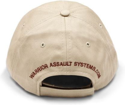 WARRIOR Šiltovka Logo Cap with Coyote tan Embroidery - coyote, (W-EO-CAP-CT)