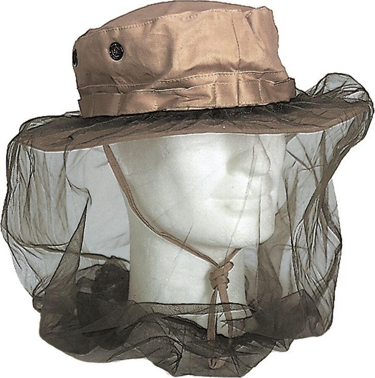 US moskytiéra na hlavu s gumicukom