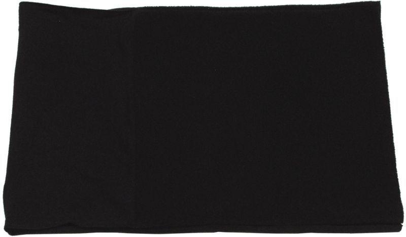 Fleecový kruhový šál ACRYL SPANDEX - čierny, 10171A