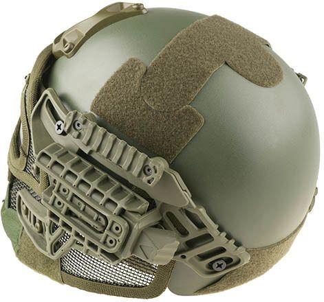 Ultimate Tactical Prilba Gunner FAST - olivová