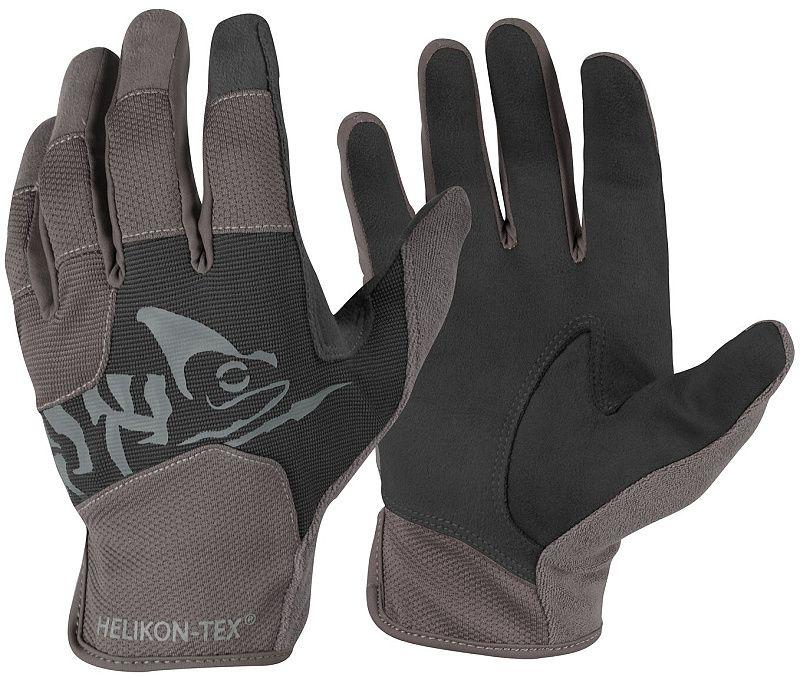 HELIKON Rukavice All Round Fit Tactical - čierne/šedé (RK-AFL-PO-0135A)