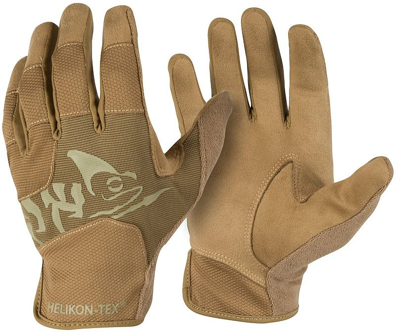 HELIKON Rukavice All Round Fit Tactical - coyote/adaptive green (RK-AFL-PO-1112A)