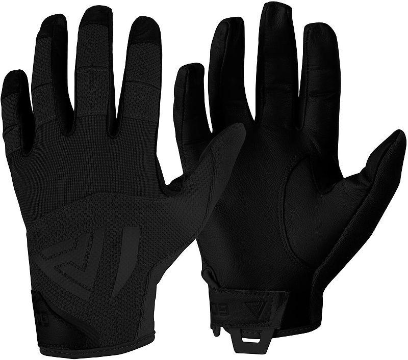 DIRECT ACTION Rukavice Hard Leather - čierne (GL-HARD-GLT-BLK)