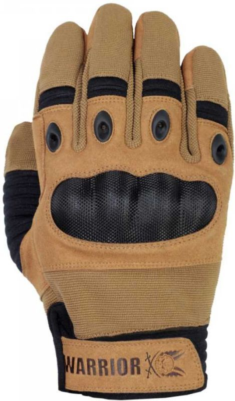 Warrior Omega Hard Knuckle Glove Coyote (W-EO-FHK-CT)