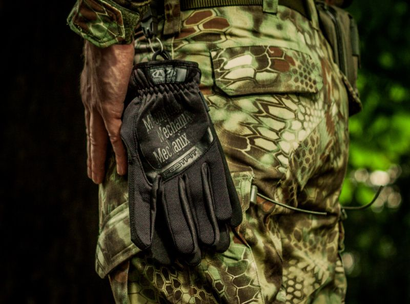 MECHANIX Rukavice Fast Fit - čierne, (FFTAB-55-BK)