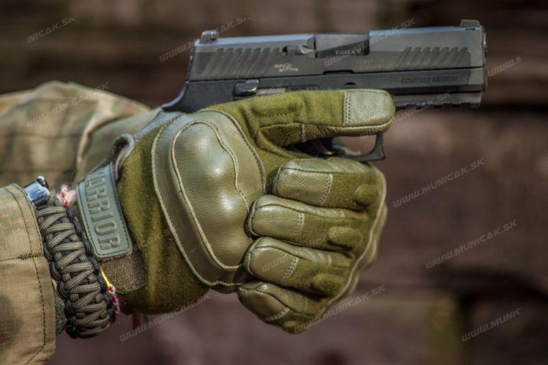 Warrior Enforcer Hard Knuckle Glove Olive (W-EO-EHK-OD)