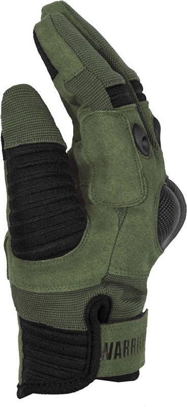 WARRIOR Omega Hard Knuckle Glove - olive drab (W-EO-OHK-OD)