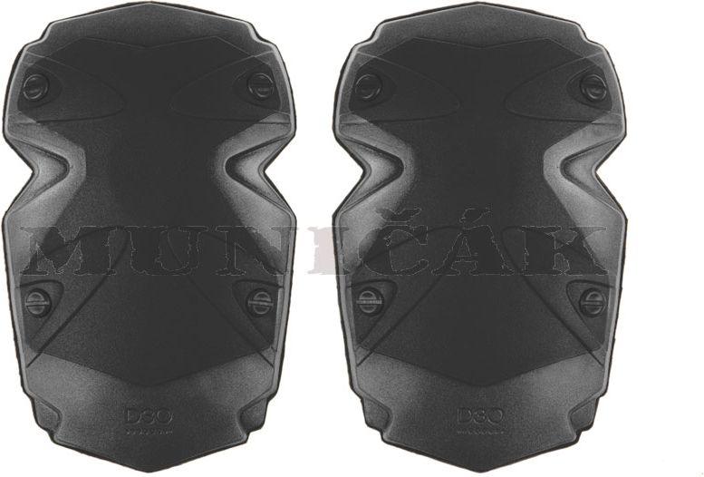 Kolenačky pre combat nohavice (D3O), čierne
