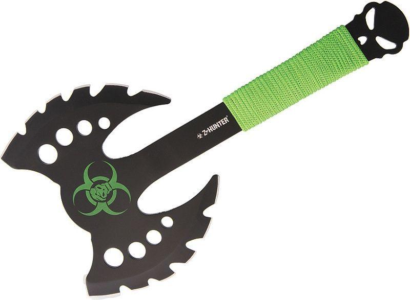 Z-HUNTER Sekera Zombie - zelená (ZBAXE12)