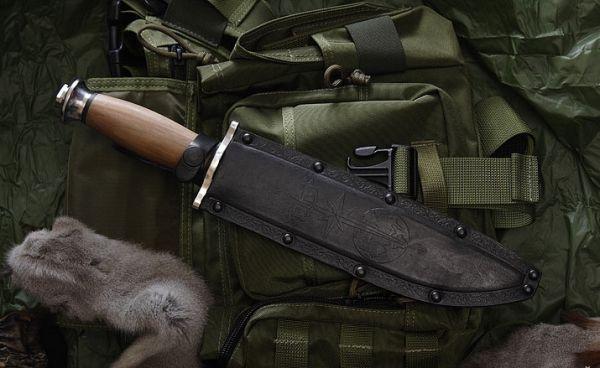 KIZLYAR Nôž s pevnou čepeľou DV-2 svetlý