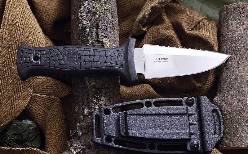 KIZLYAR Nôž s pevnou čepeľou Stráž - svetlý