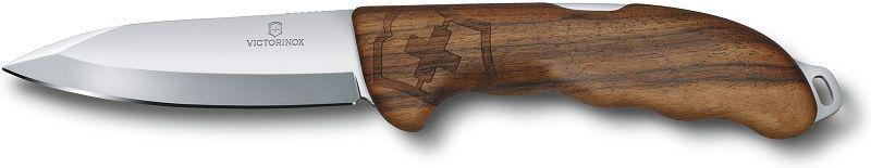 VICTORINOX Zatvárací nôž HUNTER PRO s puzdrom - drevo (0.9411.63)