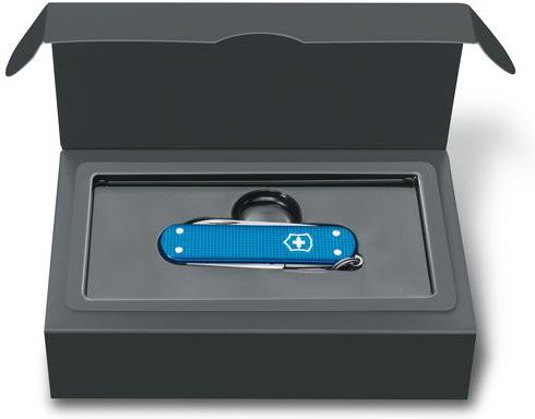 VICTORINOX Zatvárací nôž CLASSIC Alox LE 2020 - aqua blue (0.6221.L20)