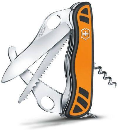 VICTORINOX Zatvárací nôž HUNTER XT GRIP - oranžový (0.8341.MC9)