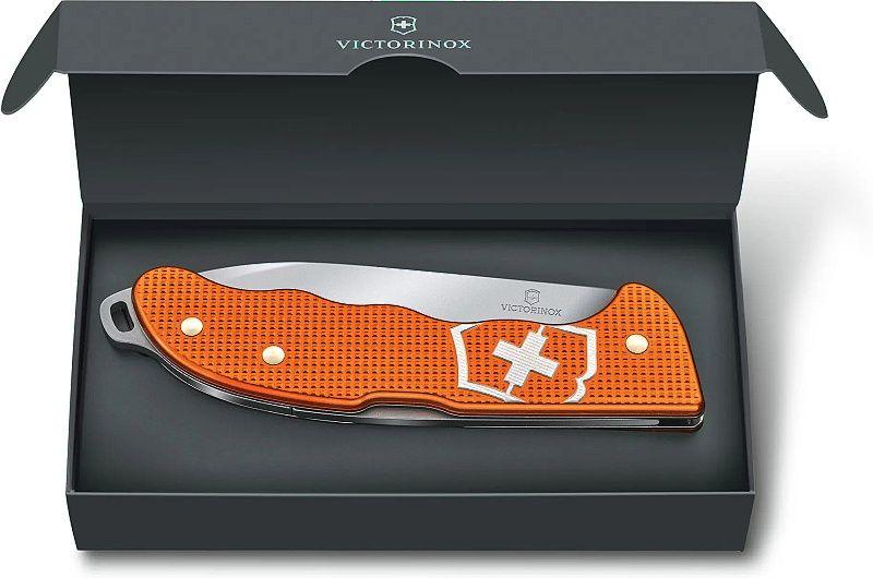 VICTORINOX Zatvárací nôž HUNTER PRO ALOX LE2021 - oranžový (0.9415.L21)