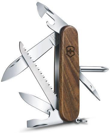 VICTORINOX Zatvárací nôž HIKER - drevo (1.4611.63)