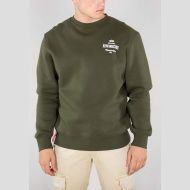 ALPHA INDUSTRIES Mikina Classic Sweater, dark-green, 178301/257