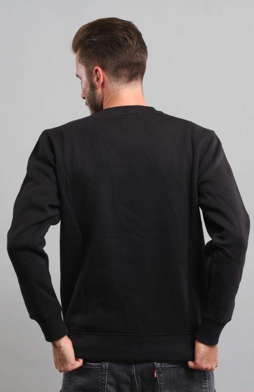 ALPHA INDUSTRIES Mikina Basic Sweater - čierna (178302/03)