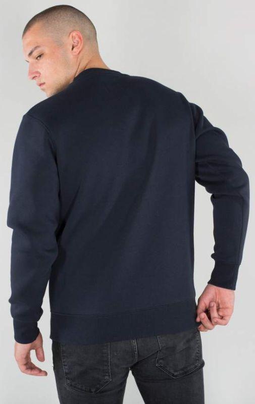 ALPHA INDUSTRIES Mikina Basic Sweater - modrá, (178302/07)
