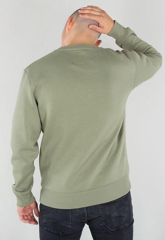 ALPHA INDUSTRIES Mikina Basic Sweater - olivová (178302/11)