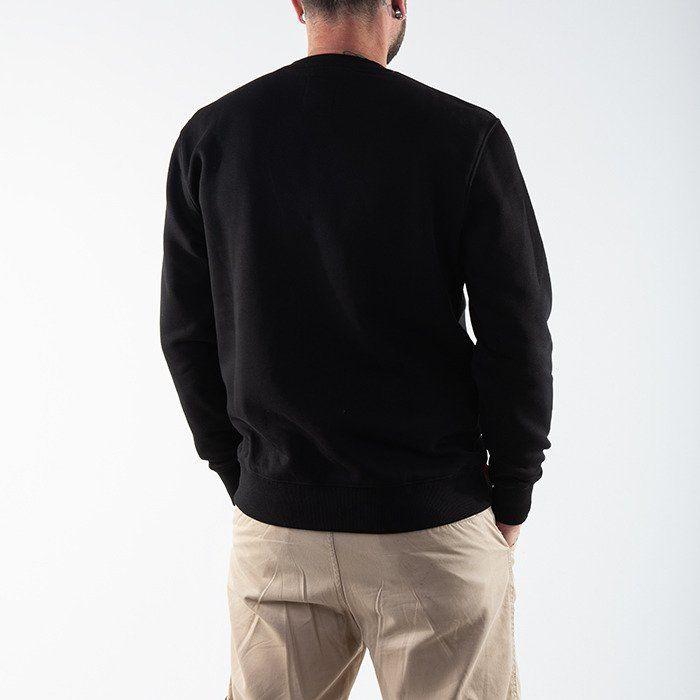 ALPHA INDUSTRIES Mikina Basic Sweater Foil Print - black/gold (178302FP/365)