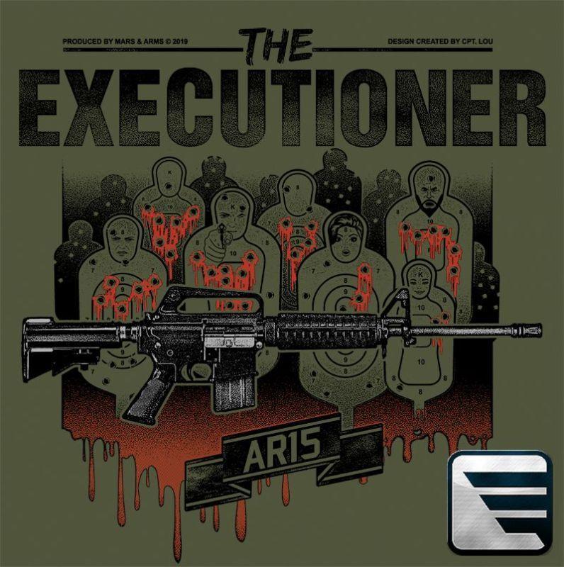 MARS&ARMS Tričko AR15 The Executioner - zelené (AR15)