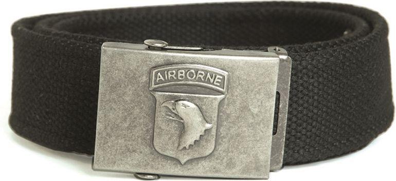MILTEC Opasok AIRBORNE 101, 40mm - čierny, (13173002)