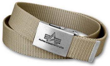 ALPHA INDUSTRIES Opasok Heavy Duty Belt - khaki, (100906/13)
