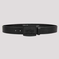 ALPHA INDUSTRIES Opasok All Black Belt - čierny (186905/03)