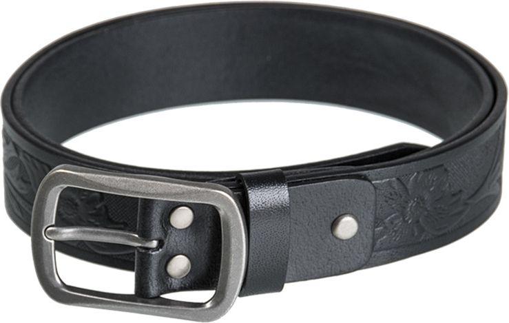 MILTEC Opasok kožený - čierny, (13167002)