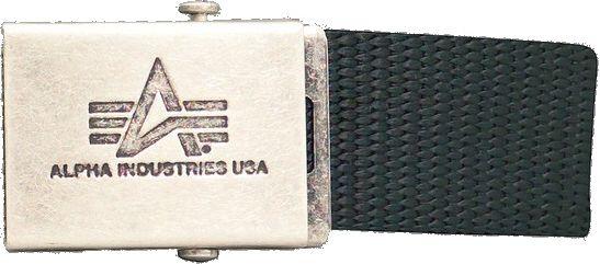 ALPHA INDUSTRIES Opasok Heavy Duty Belt - čierny (100906/03)