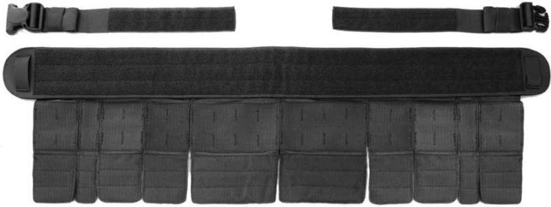 WARRIOR Opasok Gunfighter - čierny, (W-EO-GFB-BLK)