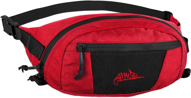 HELIKON Ľadvinka BANDICOOT Waist Pack cordura - lava red/black (TB-BDC-CD-0G01C)